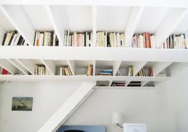 天井,本棚,作り付け